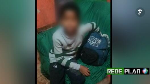 Criança de 10 anos que pediu abrigo em casa no setor norte foi entregue para a mãe.