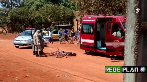 AGORA: Homem é morto à queima roupa no meio da rua no Paquetá.
