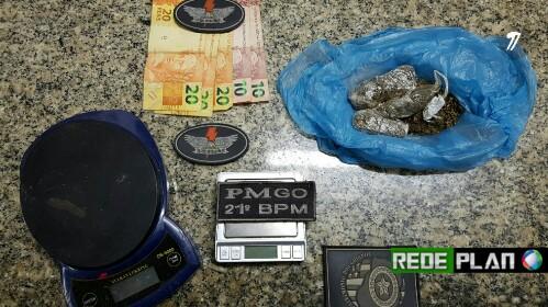 Polícia Militar apreende drogas dentro de residência na Qd. 13 Norte em Planaltina Goiás. | Rede Plan.