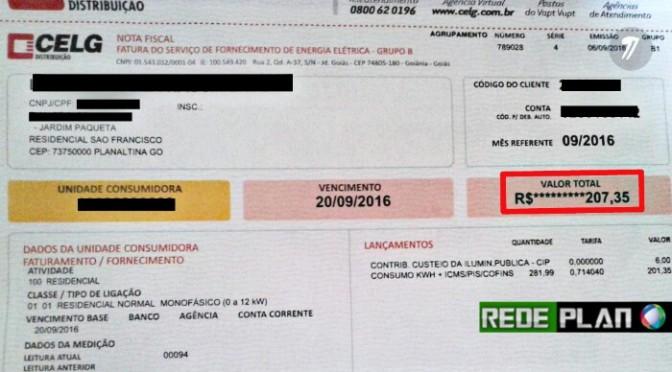 Moradores do residencial São Francisco recebem contas de mais de R$200 e ficam perplexos.