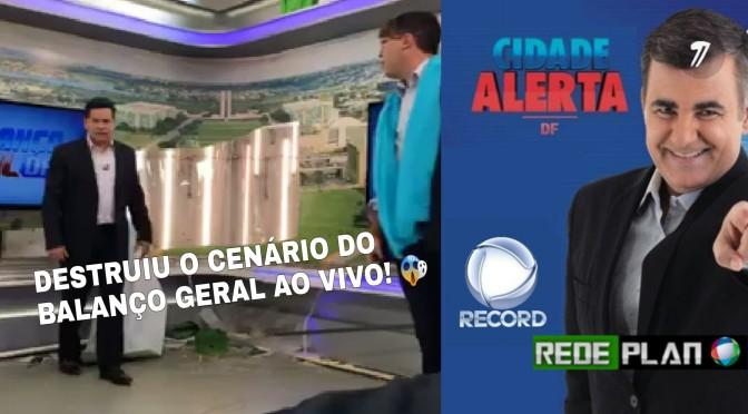 Record Brasília fará mudanças nos cenários dia 24 e estrear novo telejornal | Rede Plan