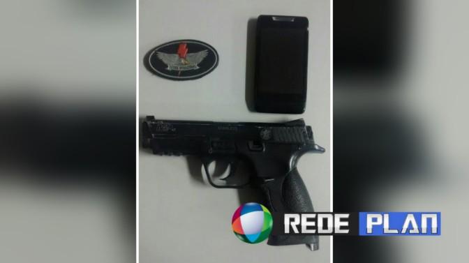 Ladrão é baleado ao tentar assaltar Policial Civil na Quadra 02 Leste em Planaltina Goiás   RP