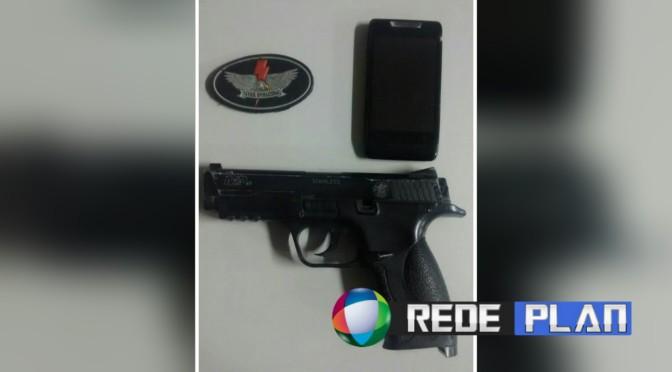 Ladrão é baleado ao tentar assaltar Policial Civil na Quadra 02 Leste em Planaltina Goiás | RP