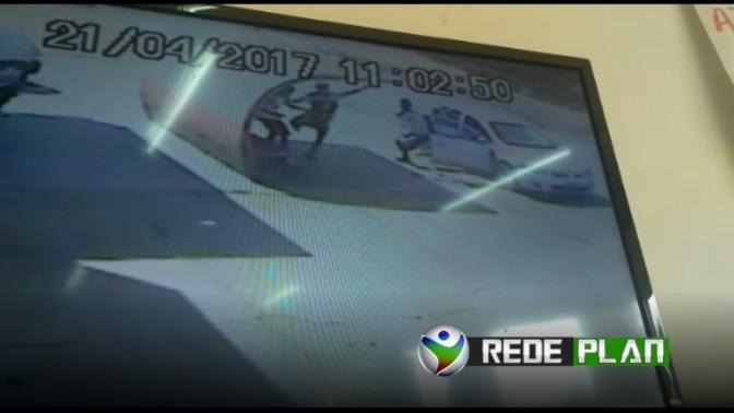 Câmeras de segurança registram ação de assaltantes no setor Sul de Planaltina-GO | RP