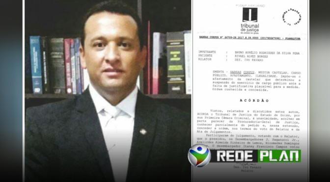 Justiça determina o retorno de Rivael Borges para a procuradoria de Planaltina Goiás | RP