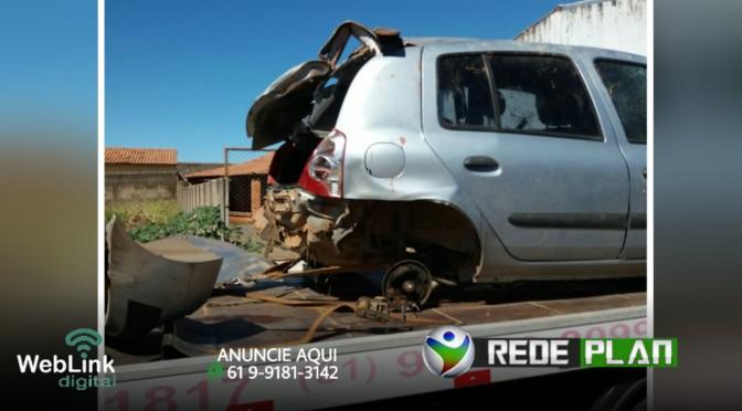 Carro com cinco jovens que vinha de Água Fria-GO capota e são arremessados pra fora | RP