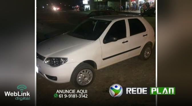 Carro roubado no último domingo é recuperado pela Polícia Militar no setor Leste | RP