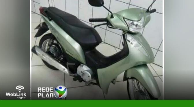 Biz roubada no último domingo (25) é recuperada pela PM em Planaltina Goiás | RP
