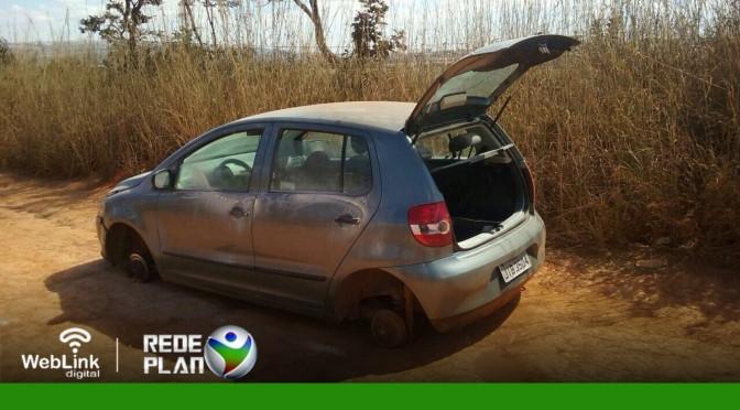 Carro roubado no último fim de semana na QD 09 norte é encontrado em Sobradinho   RP