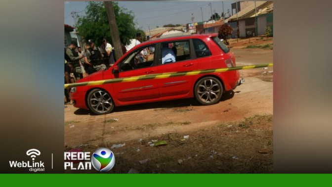 Homem é assassinado dentro do carro na porta de casa na QD 4 Leste em Planaltina-GO | RP