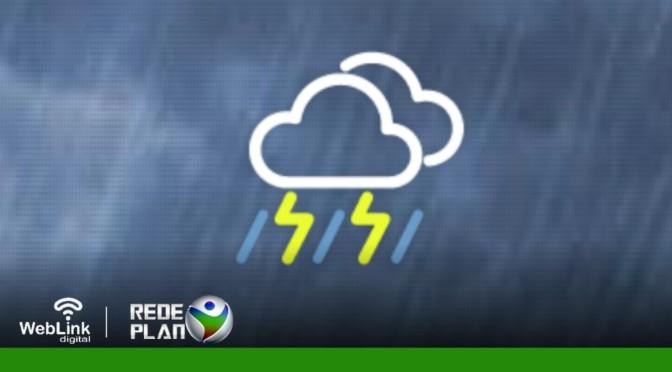 Há possibilidade de chuva em Planaltina-GO hoje. Veja a previsão do tempo para a semana | RP