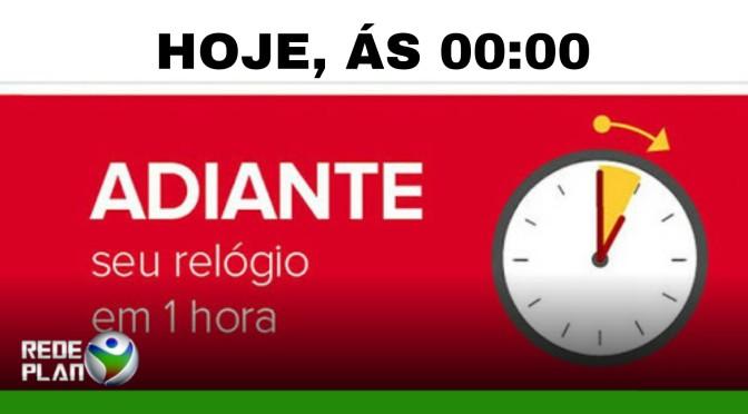 Começa neste domingo (15) o horário brasileiro de verão | RP