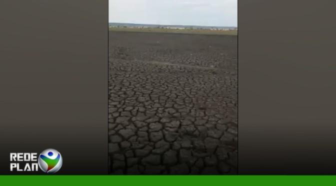 VÍDEO: Lago seca completamente em Planaltina Goiás | RP