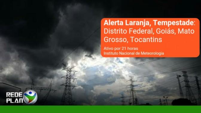 INMET emite alerta laranja para chuvas fortes | RP