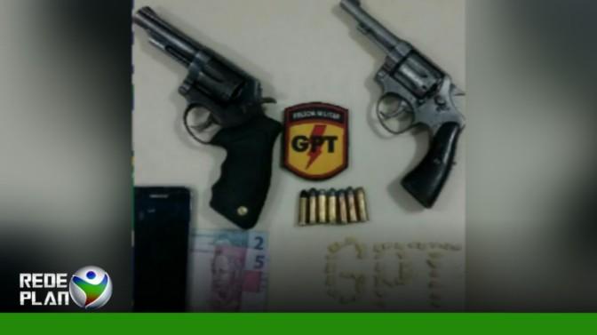 Homem é preso por posse irregular de arma e tráfico de drogas no Paquetá | RP