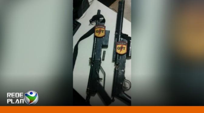 Equipe de GPT prende homem por posse de arma de fogo | RP