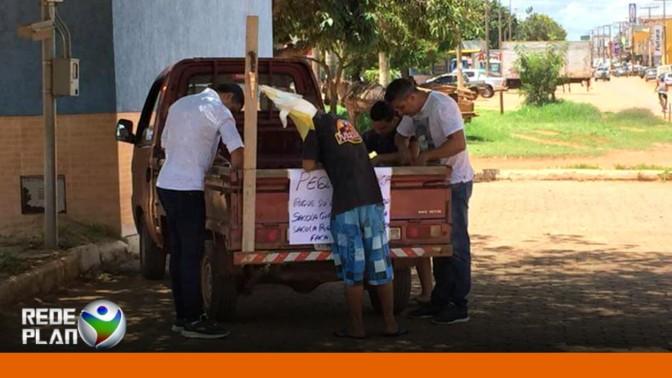 MISTÉRIO: homem oferece pequi de graça em avenida de Planaltina-GO | RP