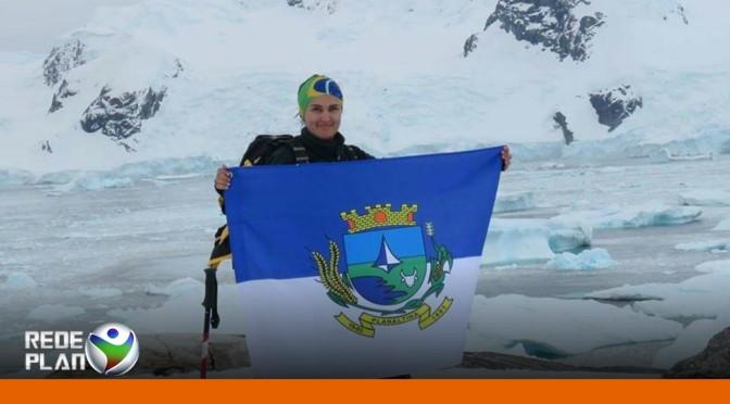 Planaltinense pesquisadora da UnB viaja até a Antártica | RP