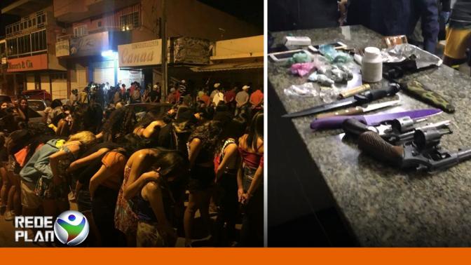 Operação da Polícia apreende armas e drogas em Planaltina-GO | RP
