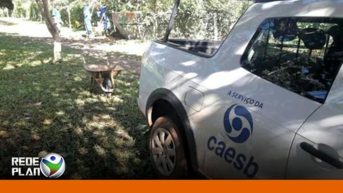 IBAMA flagra terceirizados da Caesb furando poço irregular em Planaltina-GO | RP