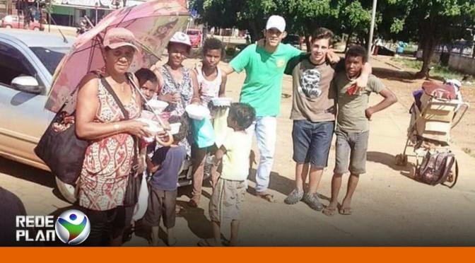 BOA AÇÃO: Adolescentes criam projeto para dar refeições para quem precisa | RP