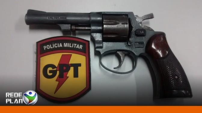 Arma de fogo de menor infrator é apreendida pela equipe da GPT | RP