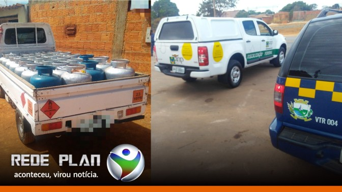 Veículo com botijões de gás clandestino é apreendido em Planaltina Goiás | RP