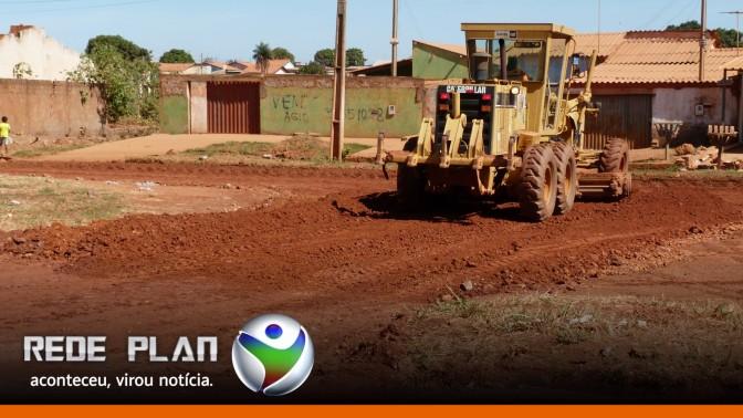 Máquinas das obras do asfalto chegam semana que vem e obra será retomada| RP