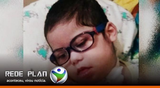 Família de Planaltina-GO pede ajuda para criança de 3 anos fazer tratamento no exterior | RP