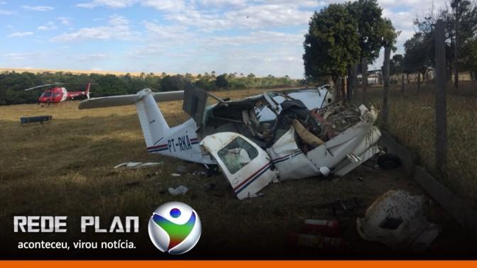 Avião que caiu em Planaltina-GO já havia se envolvido em outro acidente | RP