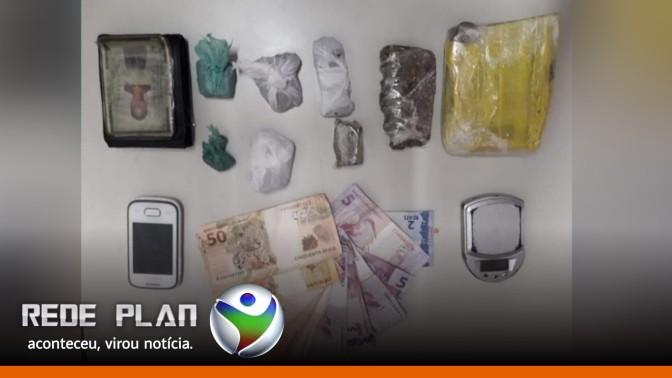 Polícia prende traficante de drogas em flagrante na Qd. 15 Norte de Planaltina-GO | RP
