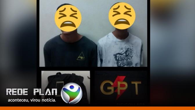 Equipe da GPT prende autores de assalto minutos após o crime e recuperam pertences | RP