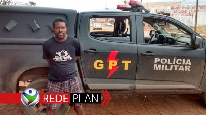 Homem do DF com mandado de prisão é preso pela GPT em Planaltina-GO | RP