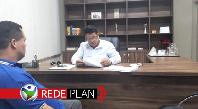 André Luiz Magalhães, Presidente da Câmara, assume a Prefeitura de Planaltina-GO   RP