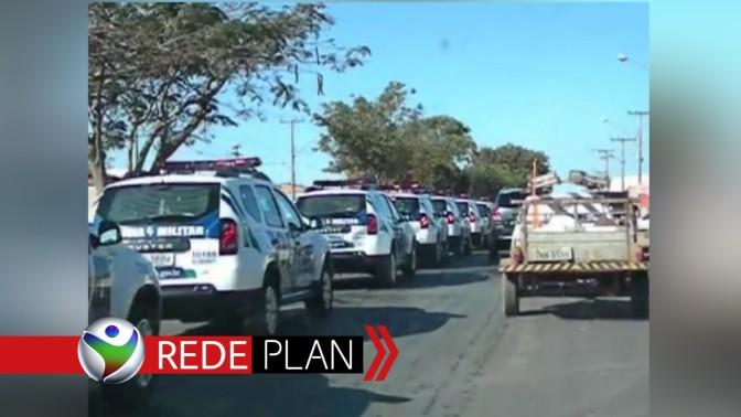 Viaturas da PMGO saem da cidade após 2 dias de operações e deixa dúvidas | RP