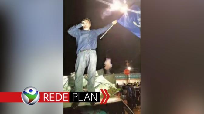 Após eleito, Reis faz discurso à apoiadores e sai em carreata pela cidade | RP