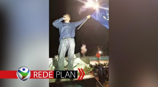 Após eleito, Reis faz discurso à apoiadores e sai em carreata pela cidade   RP