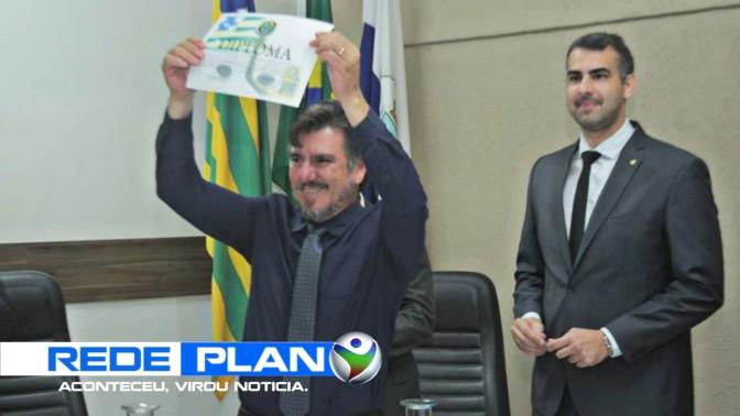 Eles Reis é o novo prefeito de Planaltina Goiás | RP