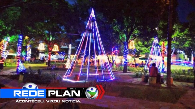 Confira a programação do natal na praça central de Planaltina Goiás | RP