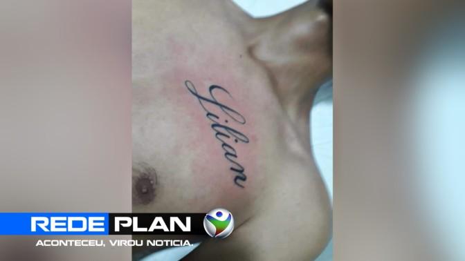 Homem faz tatuagem e pede a amada de volta, e pedido viraliza nas redes, em Planaltina-GO | RP