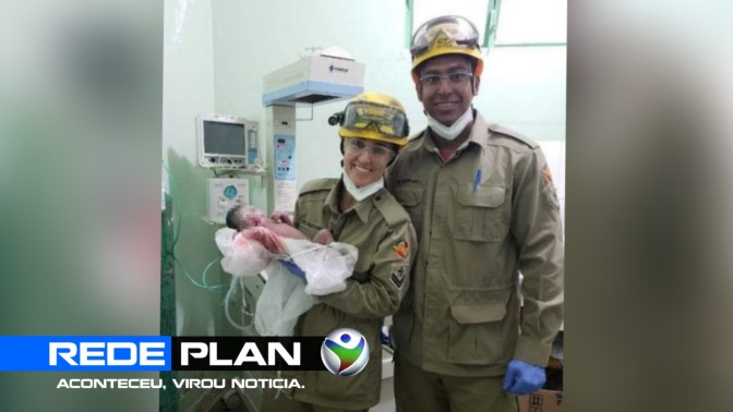 Bombeiros realizam parto de emergência em Planaltina Goiás | RP