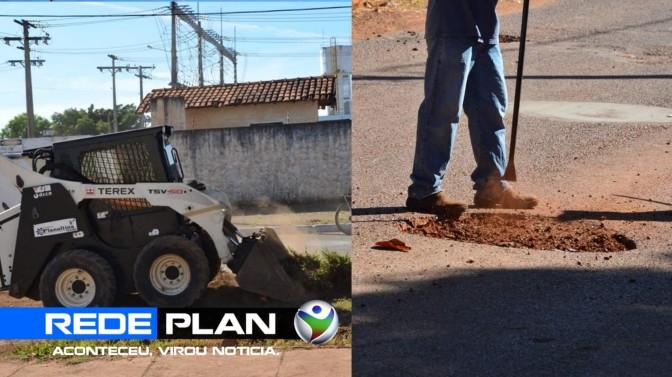 Prefeitura realiza limpeza, operação tapa-buracos, poda e manutenção nos bairros | RP