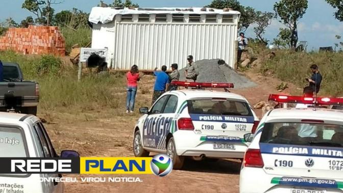 Polícia é acionada após denúncias de grilagem de terra na rampa do vôo livre, em Planaltina-GO   RP