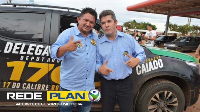 Delegado Waldir (PSL) destina R$ 650.000 em emendas para Planaltina Goiás   RP