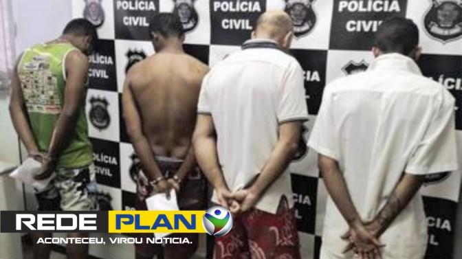 Polícia prende dupla que furtou R$ 100 mil em escola de Planaltina Goiás | RP