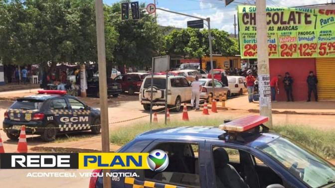 Polícia reconstitui cena de crime que aconteceu ano passado no centro | RP