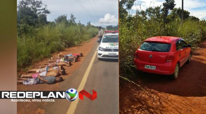 Polícia Militar recupera veículo na GO-430 e sete meliantes são presos | RP