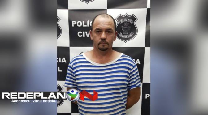 Polícia Civil prende foragido da justiça em Planaltina Goiás | RP