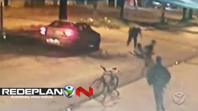 Menor é detido suspeito de agredir homem até a morte em Planaltina Goiás; veja vídeo | RP