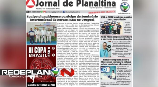 Reportagem do Jornal de Planaltina fala sobre ampliação da estrutura da Rede Plan | RP